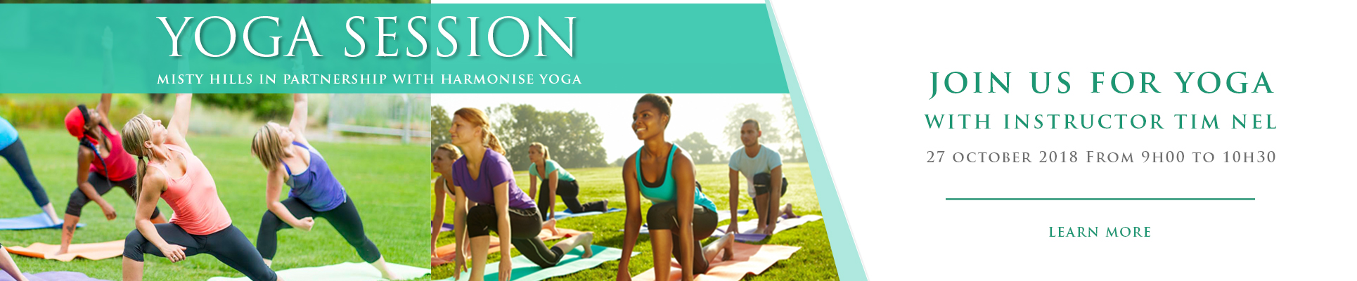 Misty Hills Country Hotel Yoga Sessions Gauteng Muldersdrift venues
