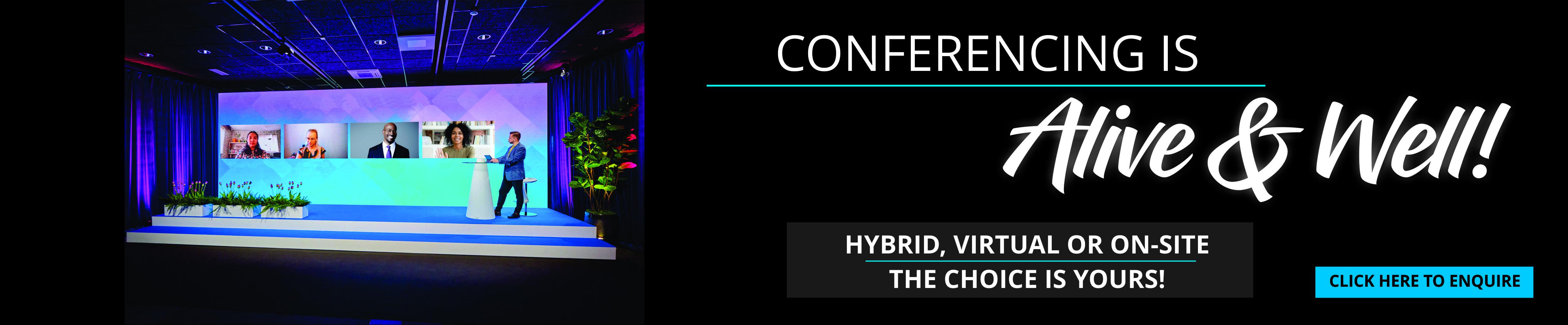 Virtual & Hybrid Conferencing
