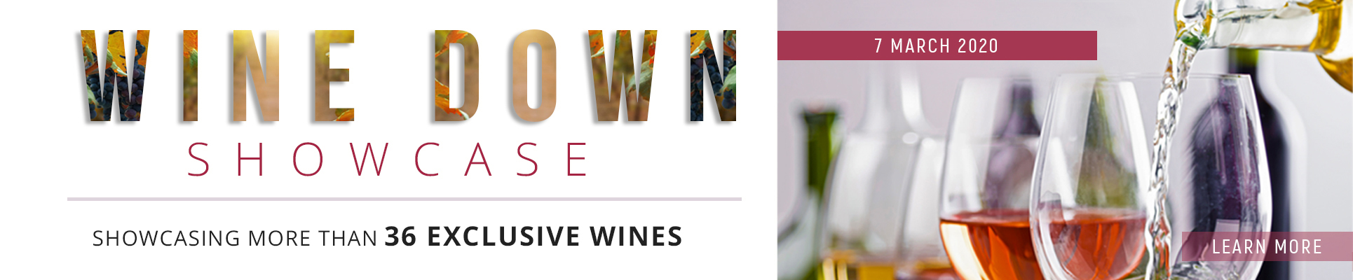 WINE DOWN SHOWCASE WINE TASTING AT MISTY HILLS COUNTRY HOTEL MULDERSDRIFT, GAUTENG EVENTS