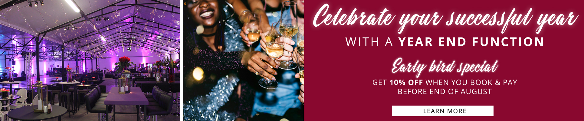 Misty Hills Country Hotel Year End Functions Early Bird Specials Gauteng Muldersdrift venues 2019